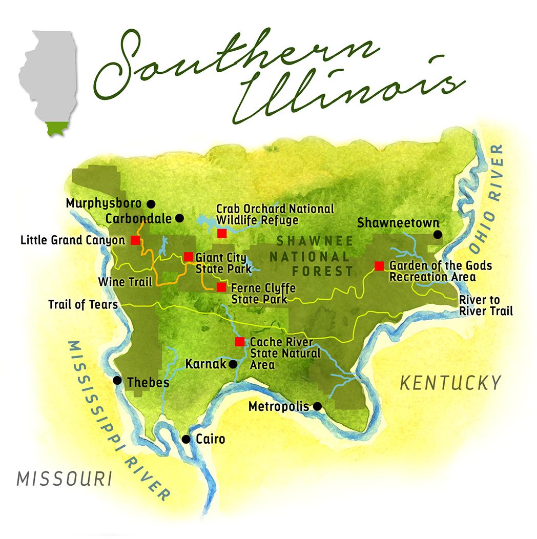 Southern Illinois Map Maps! by ScottSouthern Illinois   Maps! by Scott